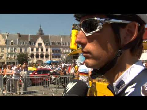 Andy Schleck - Tour de France Stage 4 - Bicycling Magazine