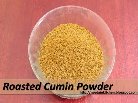 How to make Roasted Cumin Powder at Home