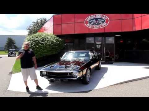 1969 GT500 Shelby Mustang 428 Classic Muscle Car for Sale in MI Vanguard Motor Sales