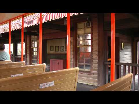Walt Disney World Railroad, Magic Kingdom, Walt Disney World, (HD 1080p)
