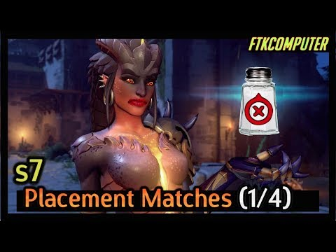 A Salty Start to Season 7 | Overwatch Placement Matches (Part 1)