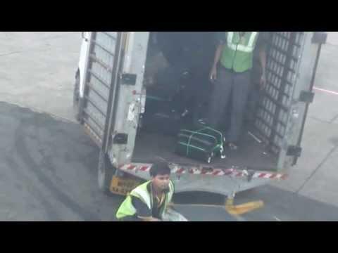jet airways baggage handling at Mumbai Airport