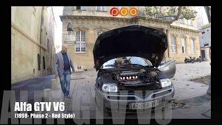 Quand une Alfa Romeo GTV V6 de 1998 rencontre une Mini de 1980