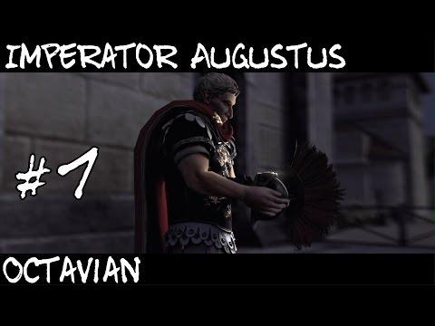 Total War Rome 2 : Imperator Augustus Campaign Part 1