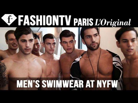 Men's Swimwear at New York Fashion Week - The Fashion Gallery...