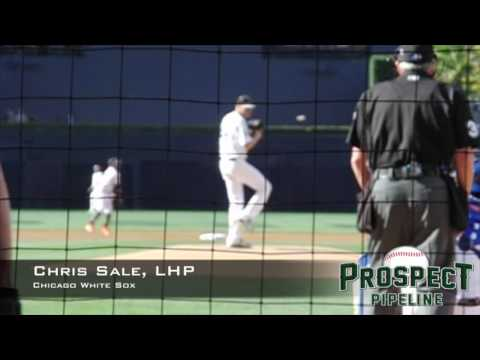 Chris Sale, LHP, Chicago White Sox,Pitching Mechanics at 200 FPS