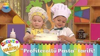 Ebrar ve Arda'dan ''Profiterollü Pasta'' tarifi!
