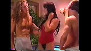Asia Carrera with husband and 3 some