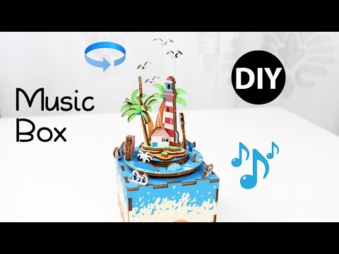 DIY Vocational Island Music Box/Summer Room Decor