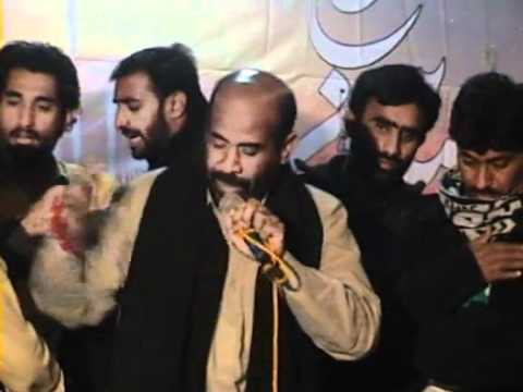 Noha 2011 - Mukhtiar Sheedi In Chehlum Azadari - Tharushah City 7.flv video