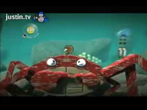 Brad plays Shark level LBP