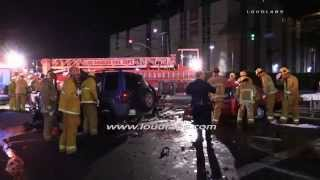 DUI Causes Triple Fatal Car Crash / North Hills RAW FOOTAGE