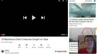 10 Mysterious Giant Creatures Caught on Tape |☆REACTION☆|
