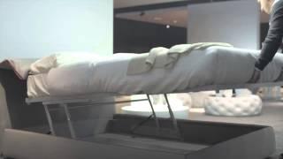 Campo - letto con contenitore