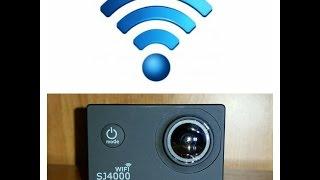 Conectar Wifi  SJCAM SJ4000, gopro hero, Xiaomi yi, Sony cam, Garmin, polaroid cube, SJ5000, SJM10