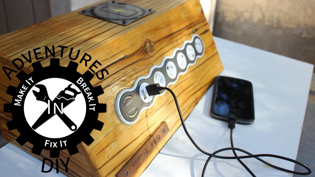 Building Charging Stations For Mobile Devices YouTube