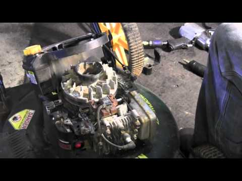 How to replace flywheel key on lawn mower
