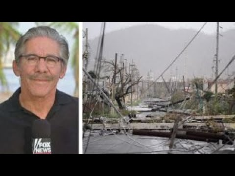 Geraldo Rivera shows aftermath of Hurricane Maria