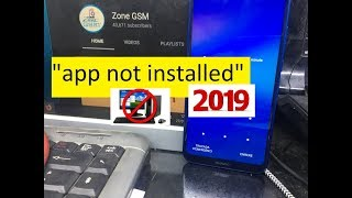 "New Method 2019 ""app not installed"" Huawei P20 2018 Remove Google Account Unlock FRP"