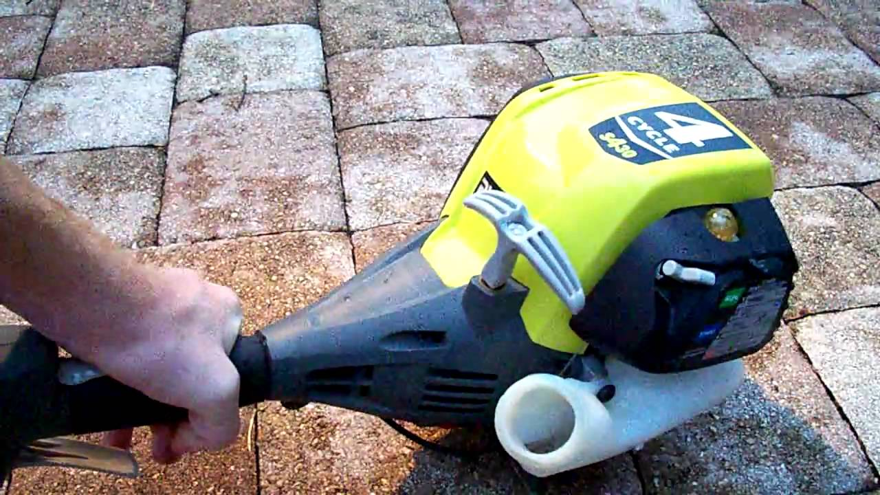 Weed Eater Leaf Blower Problems : Problem with ryobi s weed whacker youtube