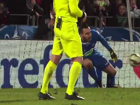 BOULOGNE SUR MER SAINT ETIENNE TIR AU BUT COMPLET QUART DE FINAL 03 03 2015