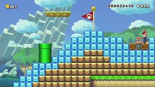 Reach the Summit in Record Time! by Henry - SUPER MARIO MAKER - NO COMMENTARY