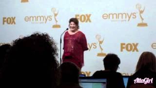 Margo Martindale Emmy Acceptance Speech Backstage