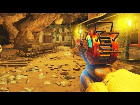 BURIED REMASTERED IN BLACK OPS 3 ZOMBIES! (Call of Duty BO3 Zombies)