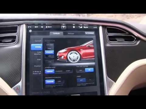Tesla Model S firmware 5.9 update