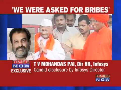 Mohandas Pai: We were asked for bribes