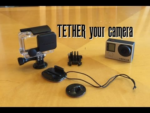 Gopro Hero 4 - HOW TO TETHER YOUR CAMERA