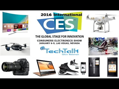 S7 Ep.12 - The World Biggest Consumer Electronic Show - TechTalk with Solomon