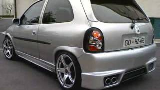 Opel Corsa B  tuned by Corsarieger