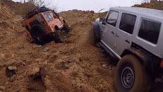 RC Jeep Wrangler & Land Rover Defender Axial scx10