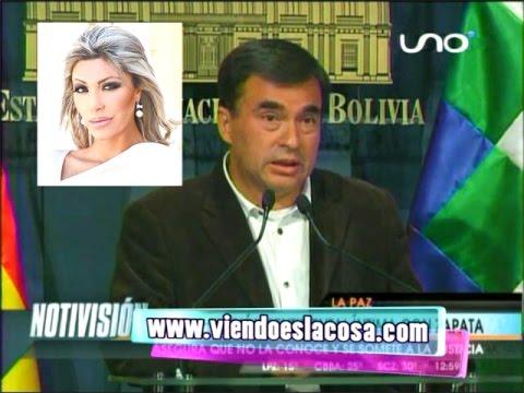 MINISTRO QUINTANA NIEGA RELACIÓN SENTIMENTAL ÍNTIMA  CON GABRIELA ZAPATA, ASEGURA QUE NO LA CONOCE