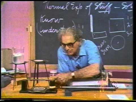 Julius Sumner Miller: Lesson 19 - Thermal Expansion of Stuff - Solids