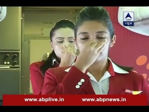 International Yoga Day: Yoga performed in mid-air on SpiceJet Flight