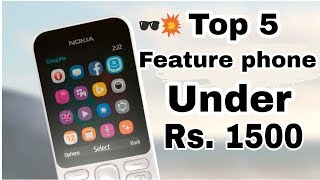 BEST 5 PHONES UNDER RS. 1500