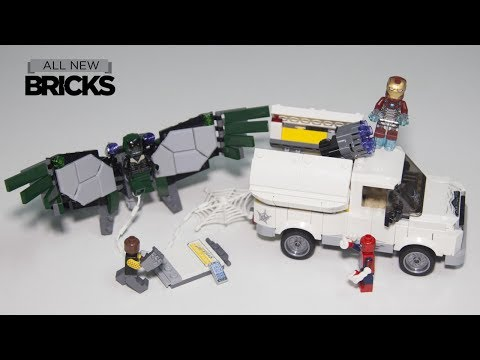 Lego Spider-Man Homecoming 76083 Beware the Vulture Speed Build