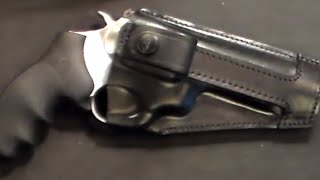 Leather Holster from Craft Holsters for Ruger SP101