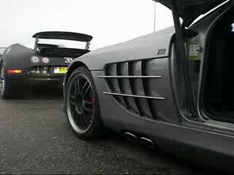 SLR Mclaren 722 revving & fly-by!