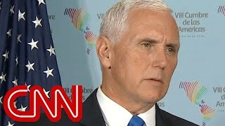 Mike Pence: Syria airstrikes morally right act