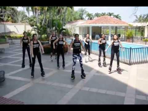 Kangoo Dance MI GENTE by ROSIBELL CALERO ( GUAYAQUIL - ECUADOR )