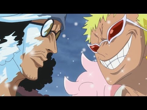 One Piece Episode 625 ワンピース Review -- Aokiji Vs Doflamingo - New World Is Real!!!
