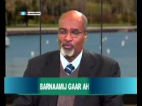 Abdullahi hussein maaryaa headlines of the news in Somali from Somali channel PART2