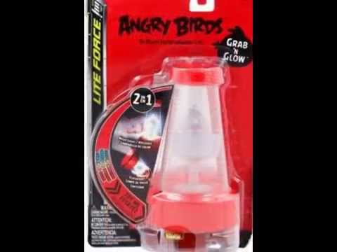 Angry Birds Grab 'N' Glow & Angry Bird Project A- Lite Force