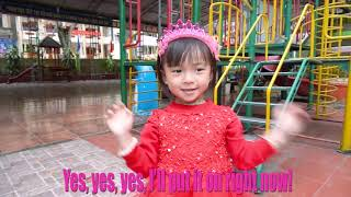 Yes Yes Playground Song   Baby Nursery Rhymes & Kids Songs   LaLa Kids TV