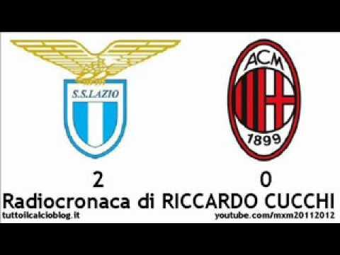 LAZIO-MILAN 2-0 – Radiocronaca di Riccardo Cucchi (1/2/2012) da Radiouno RAI