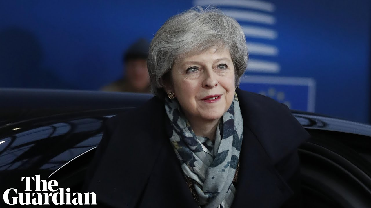 Theresa May delivers statement after EU summit – watch live