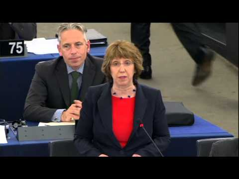 Catherine Ashton - Statement on Syria (Part 3), European Parliament, 11 September 2013